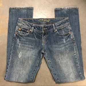 American Eagle Straight Leg Jeans Size 6 Long